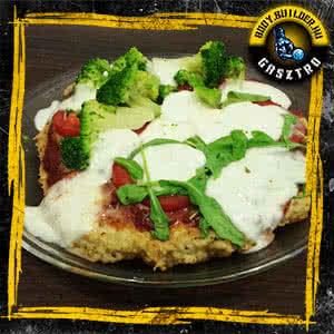 Diétás pizza sütő nélkül - elkészült!