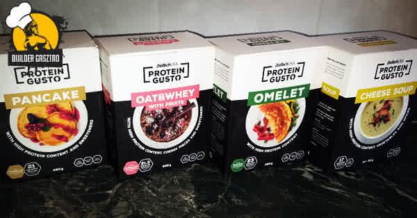 Biotech USA Protein Gusto termékek használat előtt