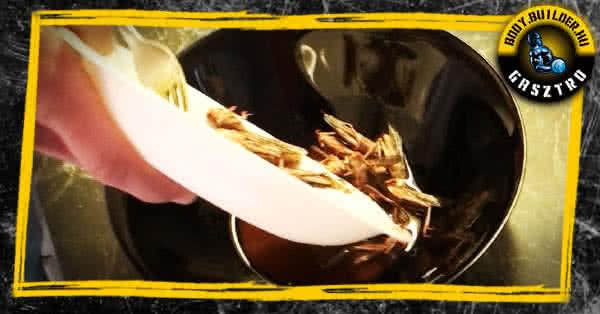 Sült sáska recept