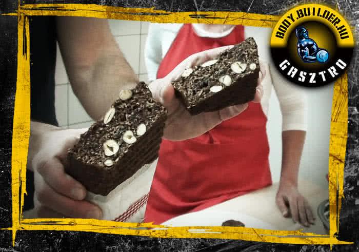 Express Protein Cake felturbózva
