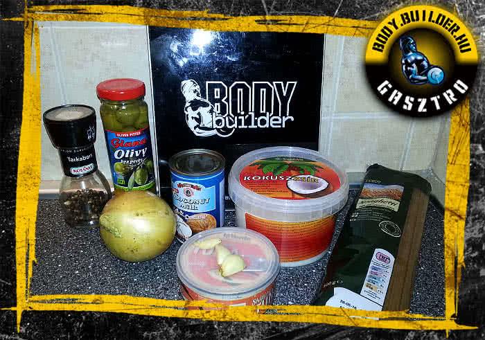 Tonhalas tészta recept - hozzávalók