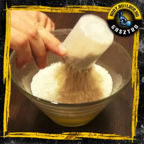 Diétás tortilla elkészítés - I. lépés
