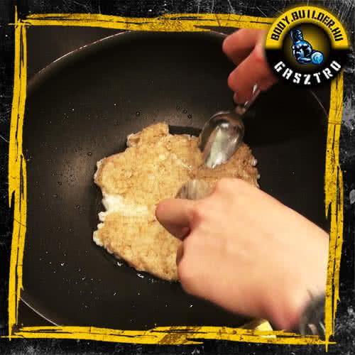 Diétás tortilla elkészítés - II. lépés