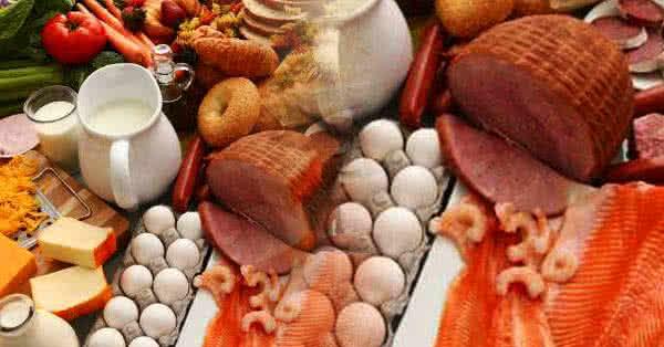 Základné zložky diéty na zvyšovanie hmotnosti