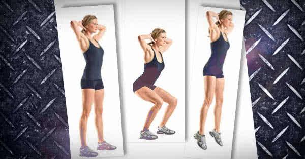 Egy szuperintenzív edzés akár otthonra is - Felugrás guggolásból