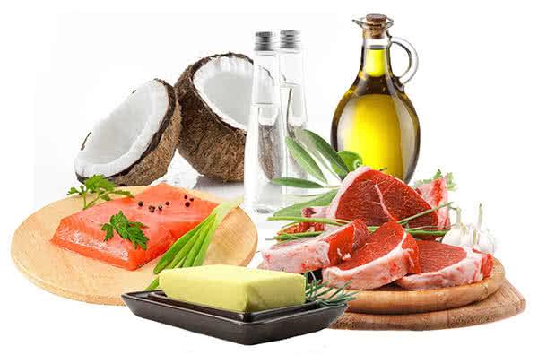 A ketogén diéta alapanyagai