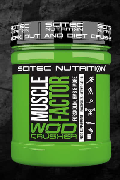 Scitec Nutrition WOD Crusher Muscle Factor
