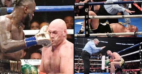 Mintha hideg vízzel öntötték volna le, Tyson valahogy visszanyerte az eszméletét, felállt, és úgy folytatta, mintha mi sem történt volna.
