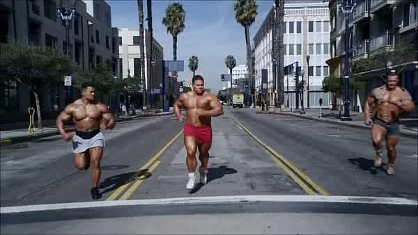 Edzés futás mellett