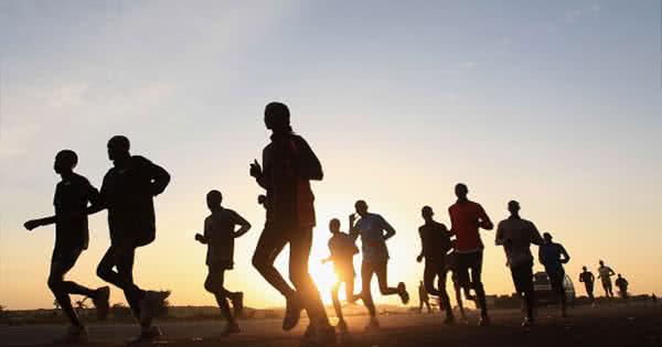 A legfontosabb dolog, hogy ne akarj a többiekkel futni.