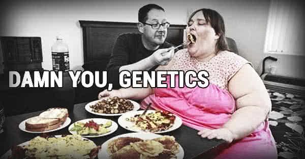 Az elrontott étkezési szokások, az évtizedes nemmozgás könnyen produkál olyan testi jellemzőket, amelyek genetikai jellemzőnek nézhetők.