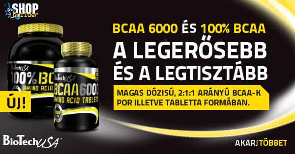 Biotech USA 100% BCAA és BCAA 6000
