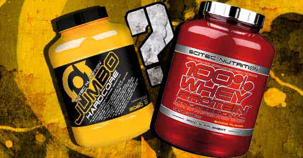 Proteins or weight-gaining supplements?