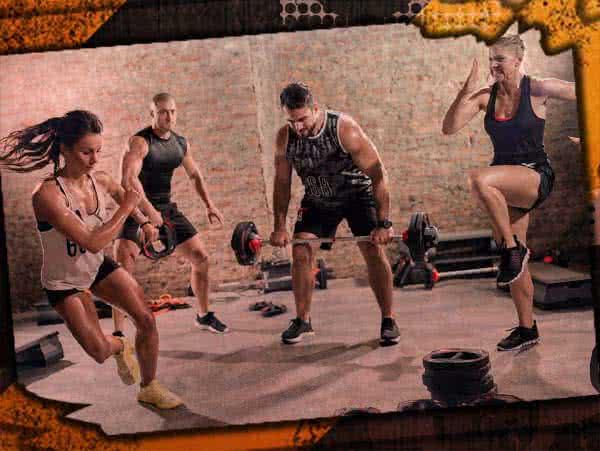 Köredzés, női edzés