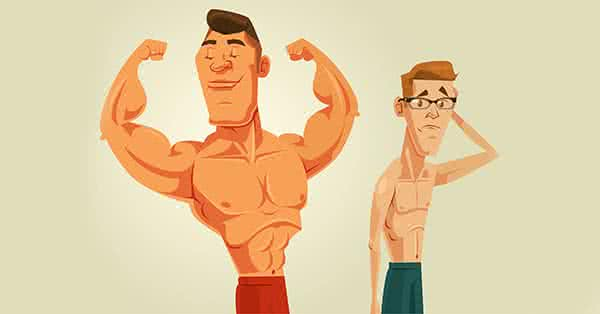 Bro split: azt látjuk, hogy a mai modern testépítők is így edzenek.