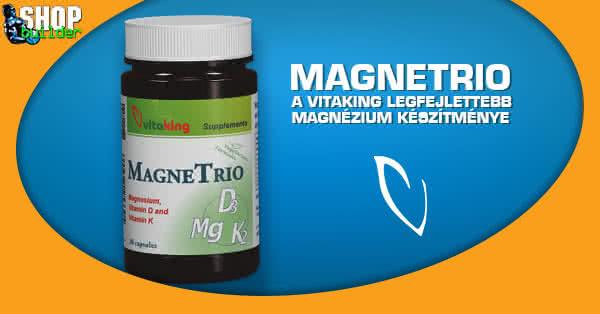 MagneTrio - a Vitaking lejfejlettebb magnézium készítménye
