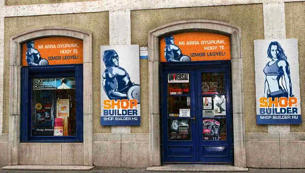 Shop.Builder prodavnica u Merey ulici u Segedinu