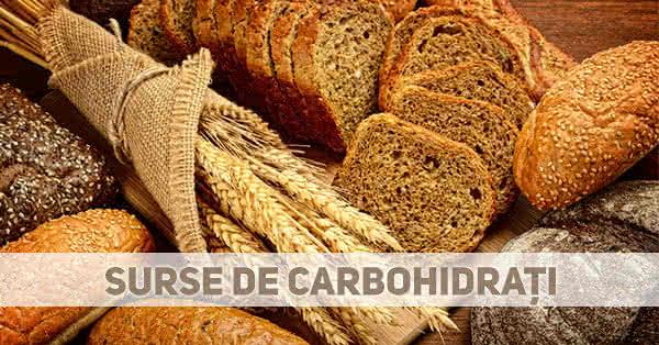 Carbohidrați în dieta pentru creștere în masă musculară