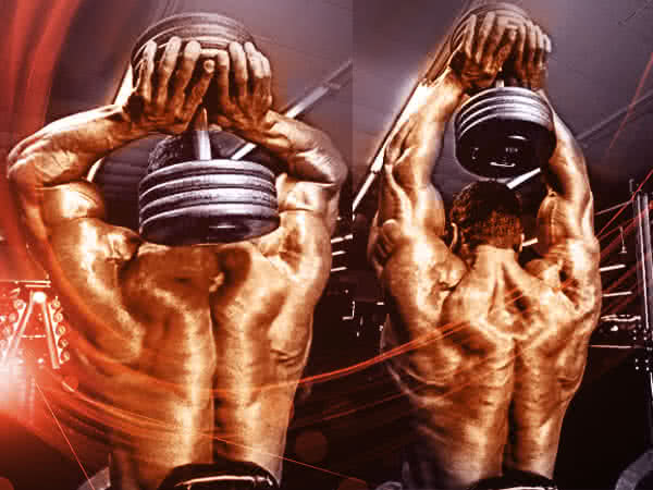 Train your triceps more frequently