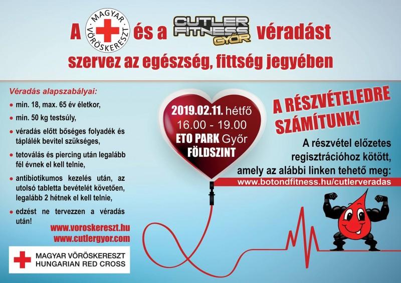 3a3a1aac98 Véradás a Cutler Győr-ben!