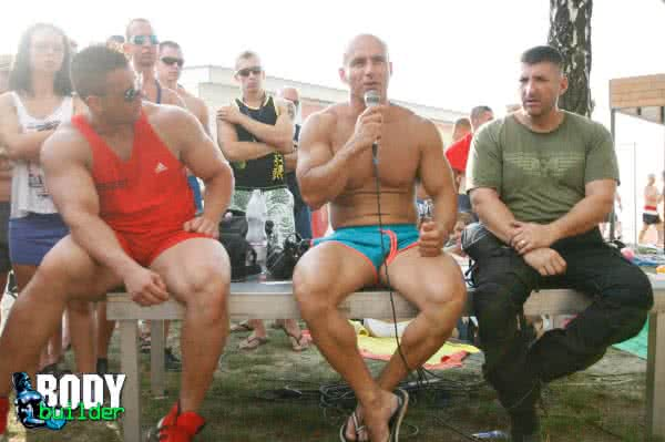 Scitec Muscle Beach 2014