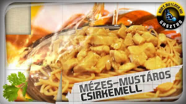 Mézes-mustáros csirkemell