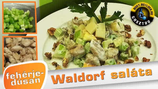 Waldorf saláta fehérjedúsan
