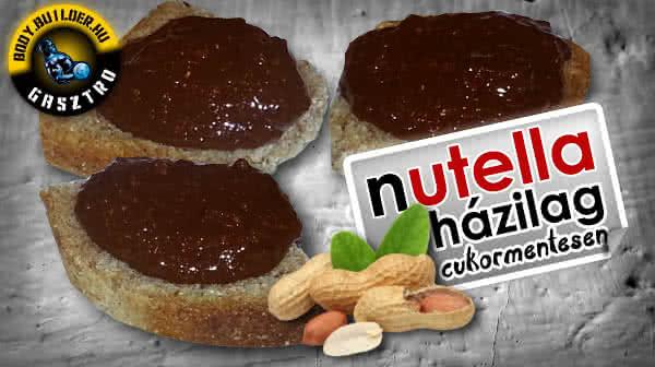 Házi nutella (majdnem) cukormentesen